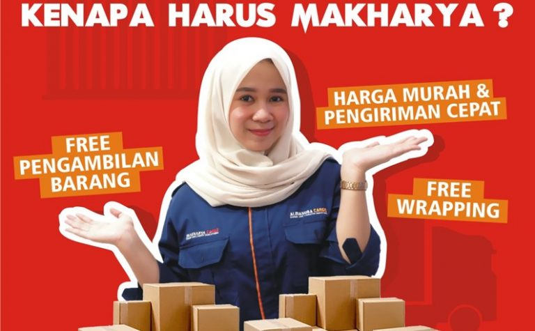 Tarif Ekspedisi Jakarta Makassar Rp 3000/kg Min 50Kg